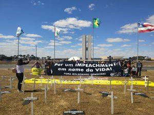 Coalizão Negra por Direitos protocola impeachment de Bolsonaro