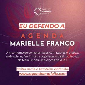 Instituto Marielle Franco lança projeto para eleições 2020 inspirado em seu legado