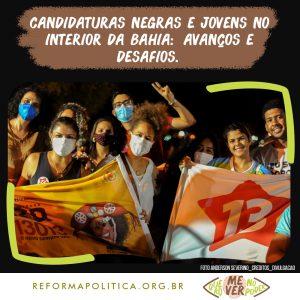 Candidaturas negras e jovens no interior da Bahia: avanços e desafios