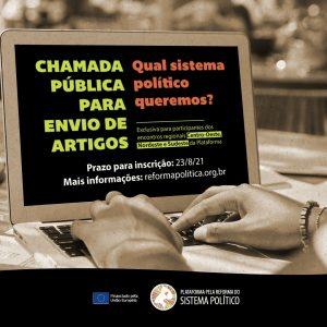 Read more about the article 1ª Chamada para envio de artigos – regiões Centro-Oeste, Nordeste e Sudeste