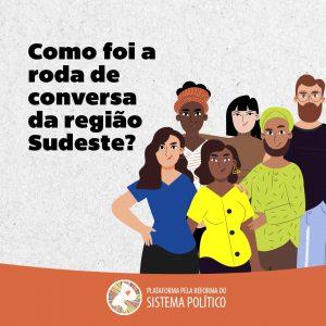 Roda de conversa da região Sudeste, organizada pela Plataforma, tem participação de movimentos e organizações sociais, para debater conjuntura nacional e regional
