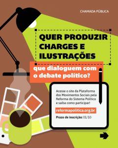 Read more about the article Chamada Pública: Charges e Ilustrações