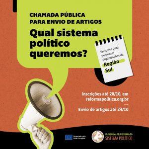 Read more about the article Chamada para envio de artigos – região Sul