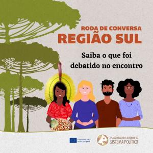 Read more about the article Roda de conversa entre movimentos, organizações sociais e a Plataforma debate conjuntura nacional e da região Sul do Brasil